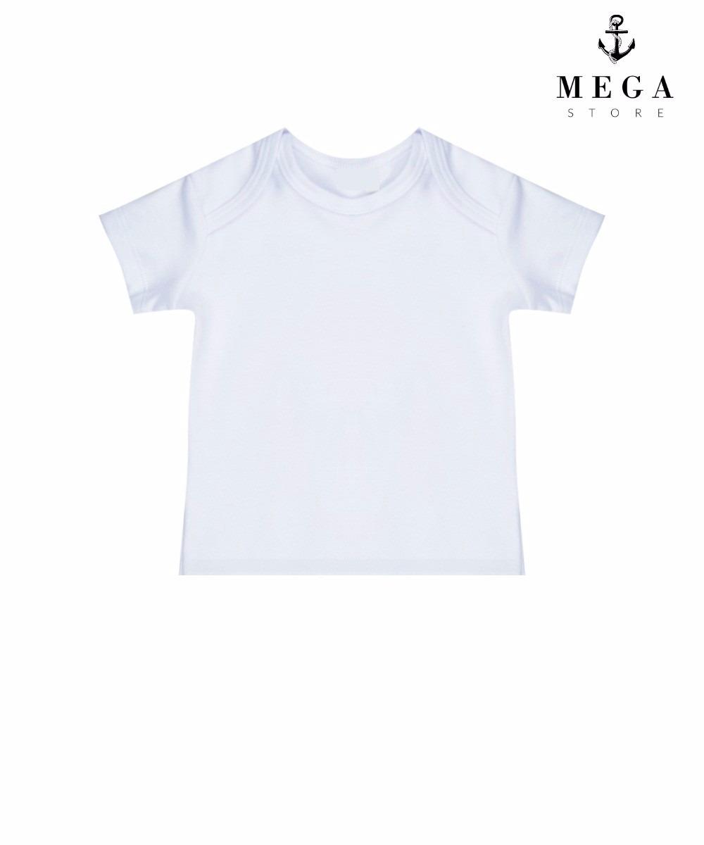camiseta infantil 100% poliéster para sublimação manga curta. Carregando  zoom. a881a223d7204