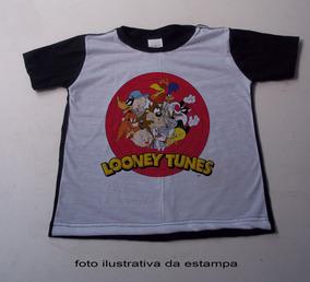 2ecc8a0754 Camiseta Looney Tunes Pernalonga E Camisetas Manga Curta - Camisetas ...