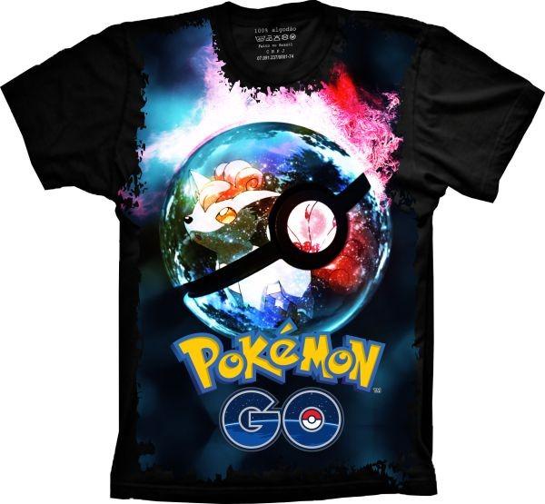 2d70e01cb7 Camiseta Infantil Anime - Pokémon Superbola - R  46