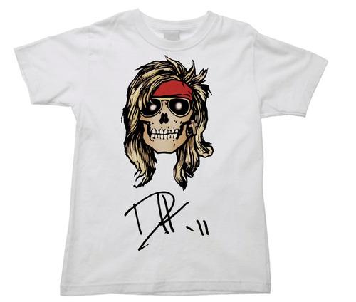 camiseta infantil axl rose guns n' roses duff mckagan 08