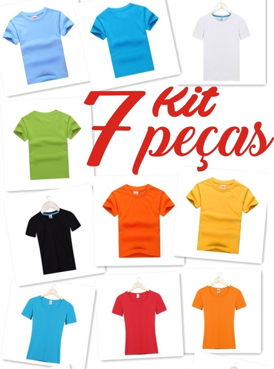 camiseta infantil básica lisa tradicional 100% algodão. Carregando zoom. 8fcbb438ab0