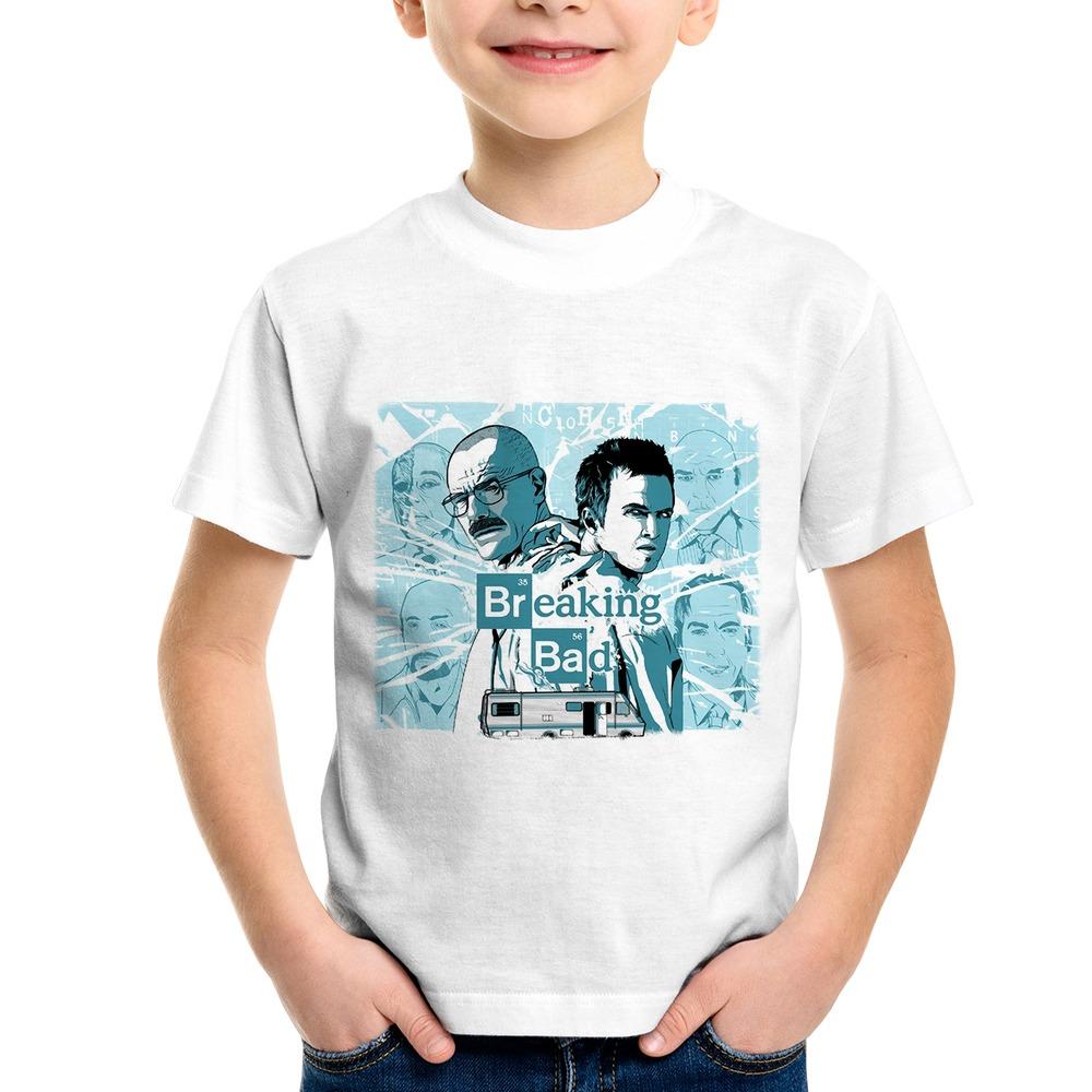 a49df1f07 camiseta infantil breaking bad blue meth. Carregando zoom.