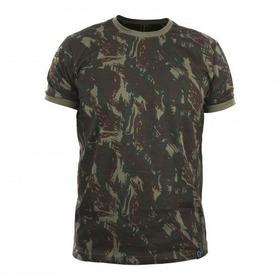 Camiseta Infantil Camuflada Em Eb