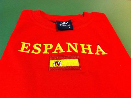 camiseta infantil da espanha
