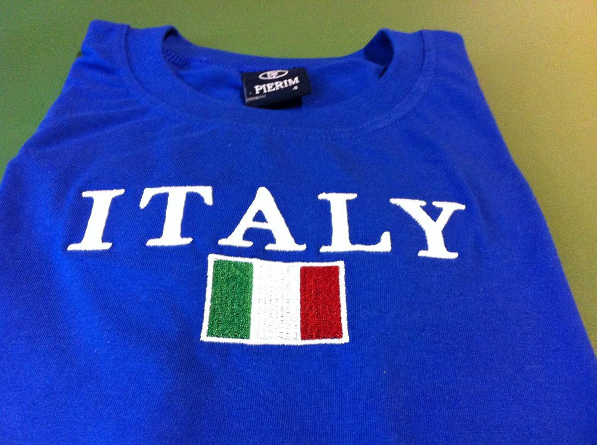 bc69092b6f camiseta infantil da itália. Carregando zoom.