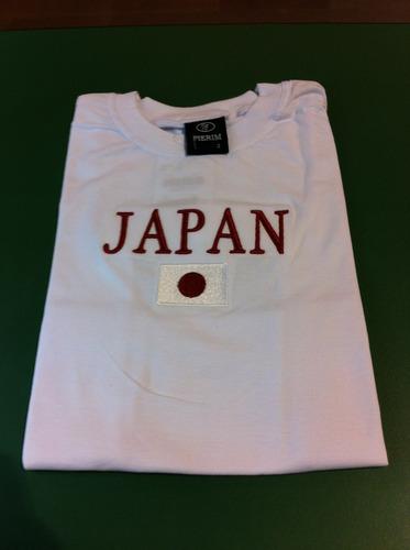 camiseta infantil do japão
