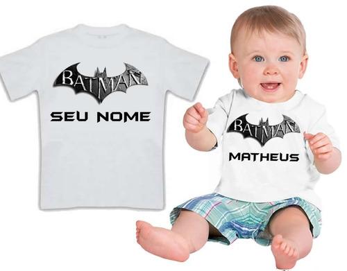 camiseta infantil filho 10 ben 10 personalizada com o nome