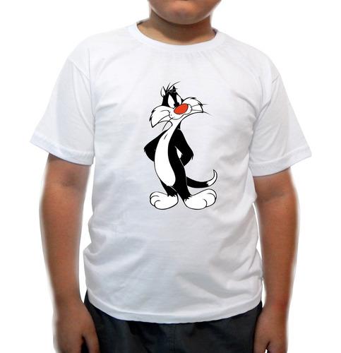 camiseta infantil frajola