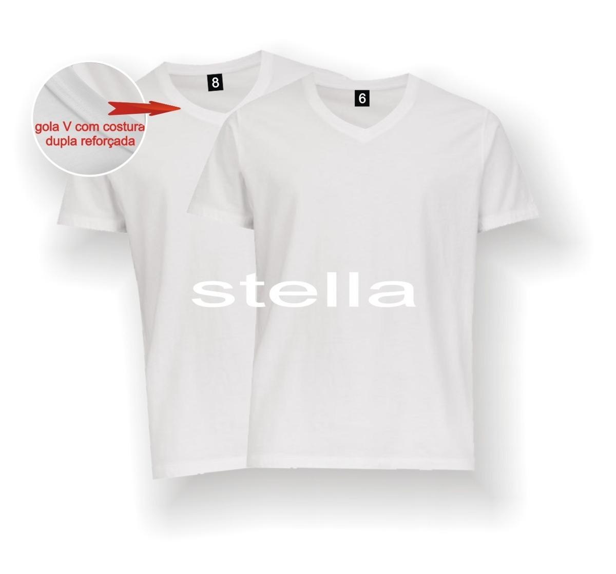 e6b961f43a camiseta infantil gola v branca lisa 100% poliéster sublimaç. Carregando  zoom.