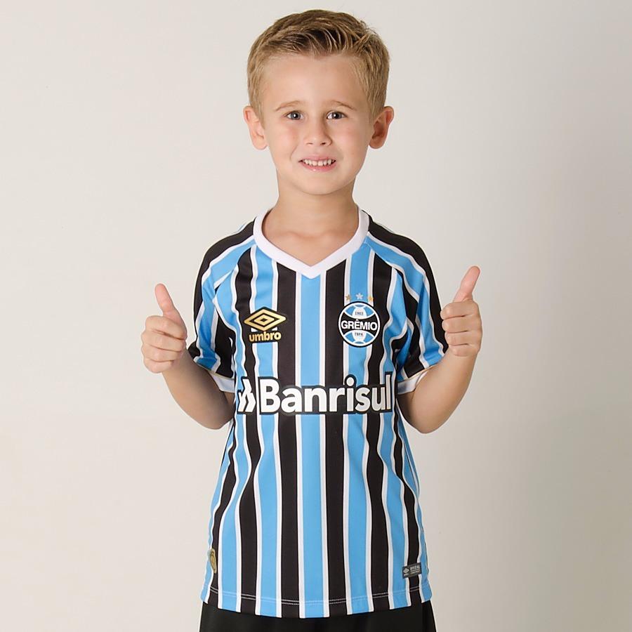 camiseta infantil grêmio - 2018 (pe). Carregando zoom. 50498b2fd5a93
