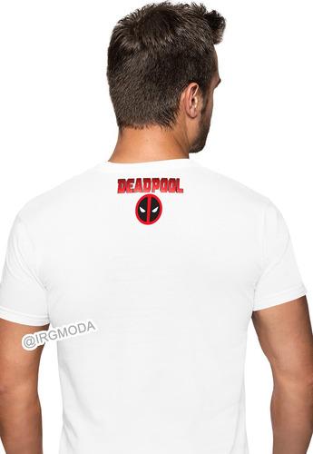 camiseta infantil hombre deadpool moda life cpr23