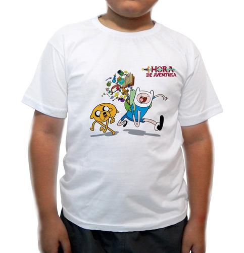 camiseta infantil hora de  aventura i
