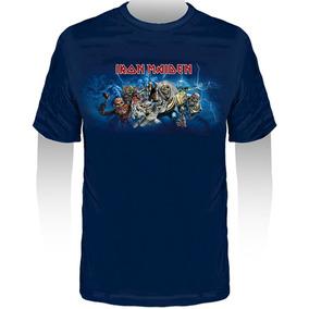 e25219b103 Camiseta Iron Maiden Bebe - Calçados, Roupas e Bolsas Azul com o Melhores  Preços no Mercado Livre Brasil