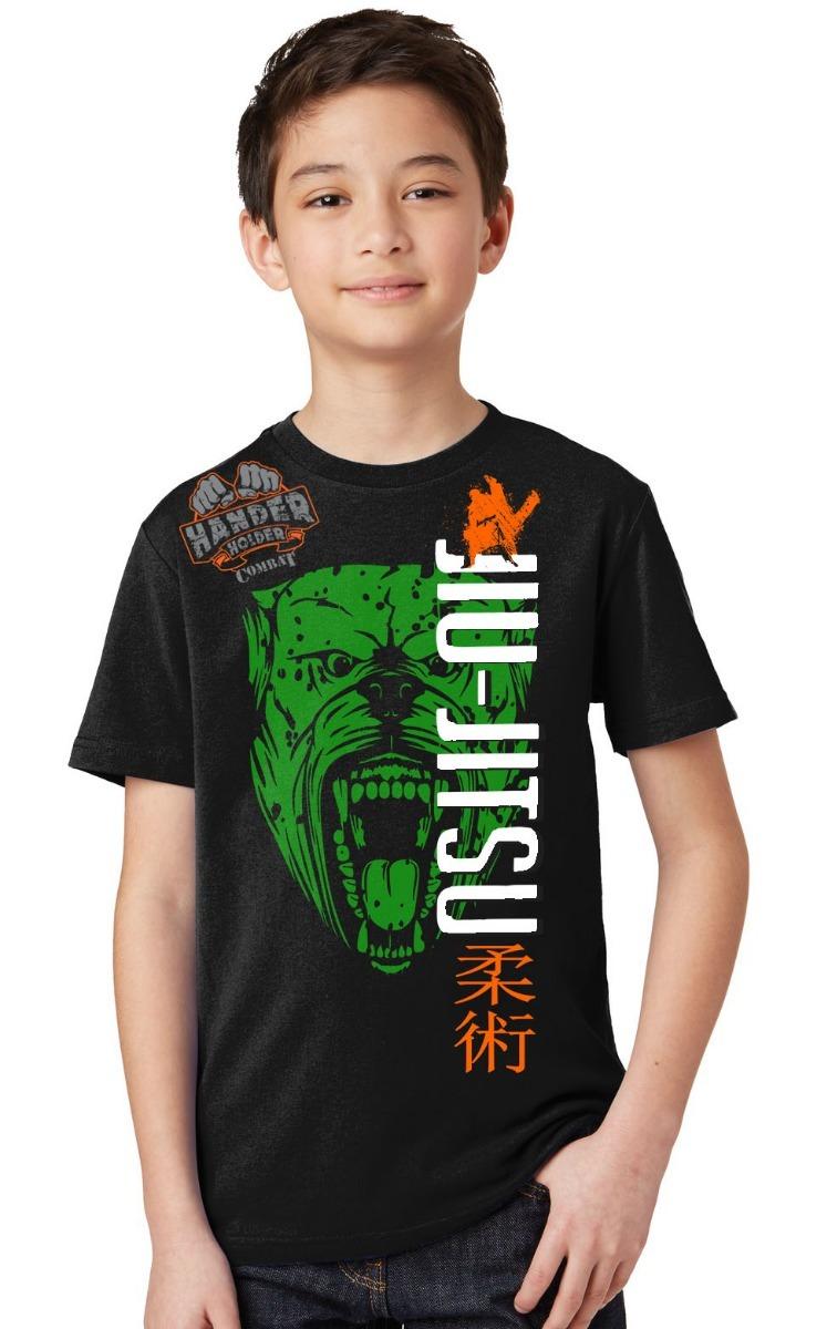 233f6e573 Camiseta Infantil Lutas Jiu-jitsu Beast