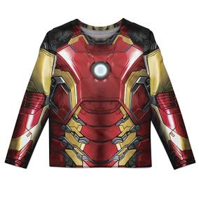 933293e7b9 Camiseta Homem De Ferro Vermelha - Camisetas e Blusas com o Melhores Preços  no Mercado Livre Brasil