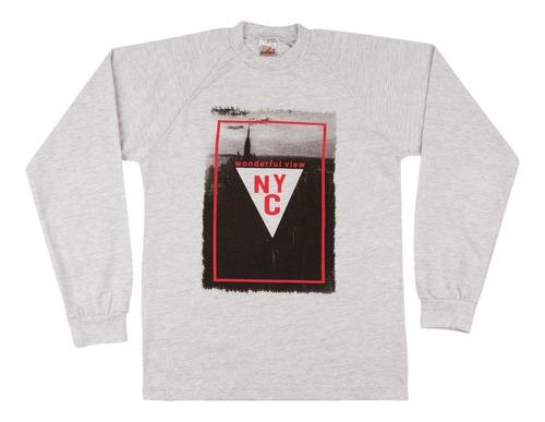 camiseta infantil manga longa menino 100% algodão isensee