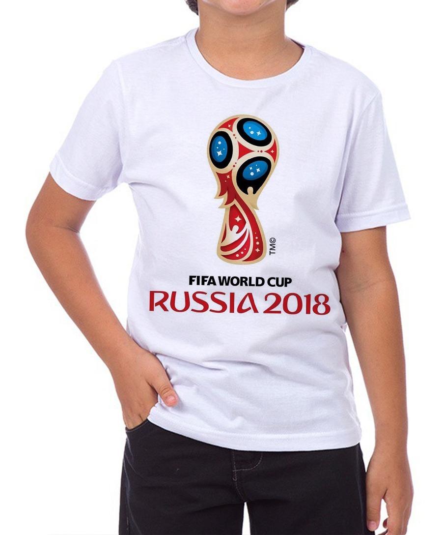 e58c326afbd6c camiseta infantil masculina - copa do mundo russia 2018. Carregando zoom.