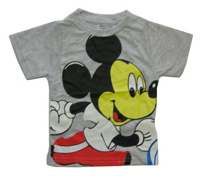 877d7b237d Camiseta Mickey 1 Ano - Camisetas Manga Curta no Mercado Livre Brasil