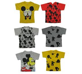 e4071f96dc Camiseta Do Mickey Menino Infantil no Mercado Livre Brasil