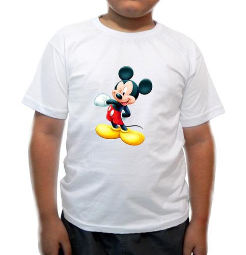 camiseta infantil mickey valente