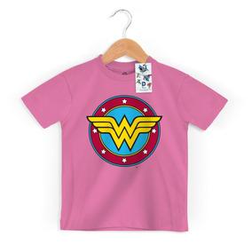 39ea1e6d6 Camiseta+mulher+maravilha - Camisetas para Meninos no Mercado Livre ...