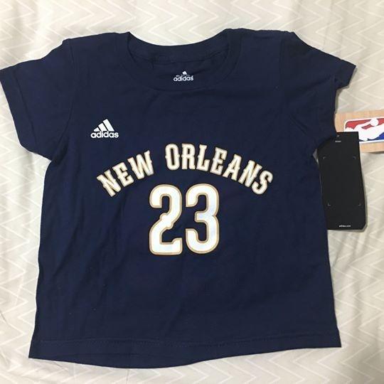 f41d50683 Camiseta Infantil - New Orleans Pelicans (nba) - R  70