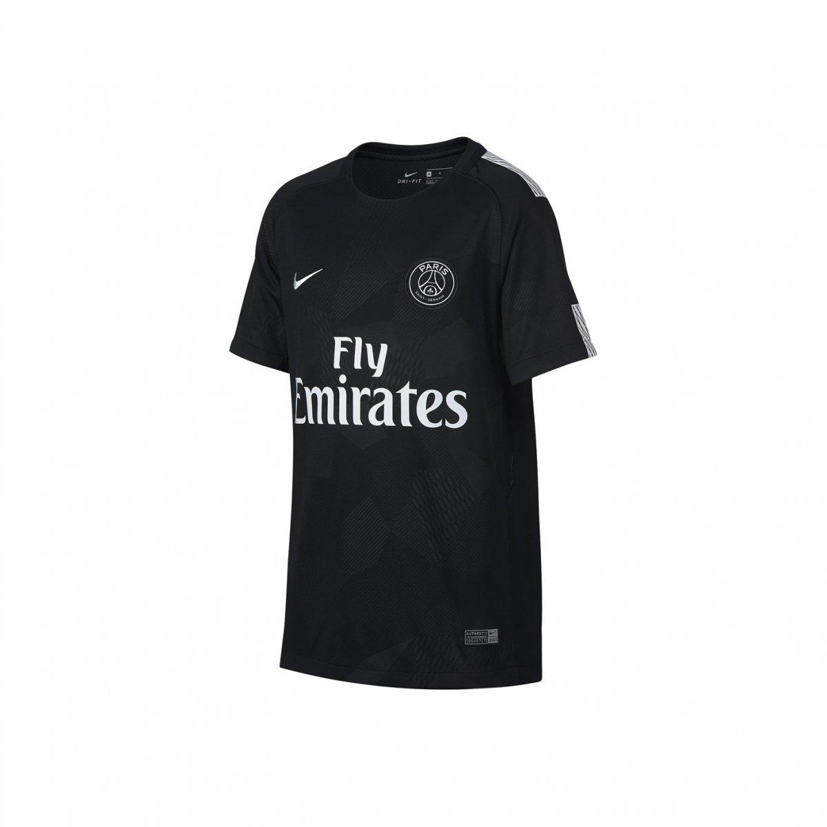 Camiseta Infantil Nike Psg 17 18 847407  a16e7c03156be