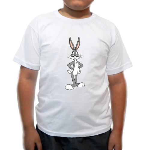camiseta infantil pernalonga