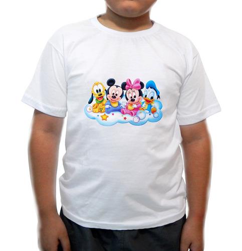 camiseta infantil  turma do mickey baby