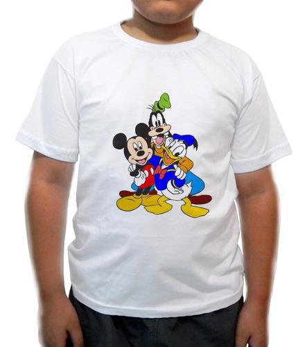 camiseta infantil  turma do pateta