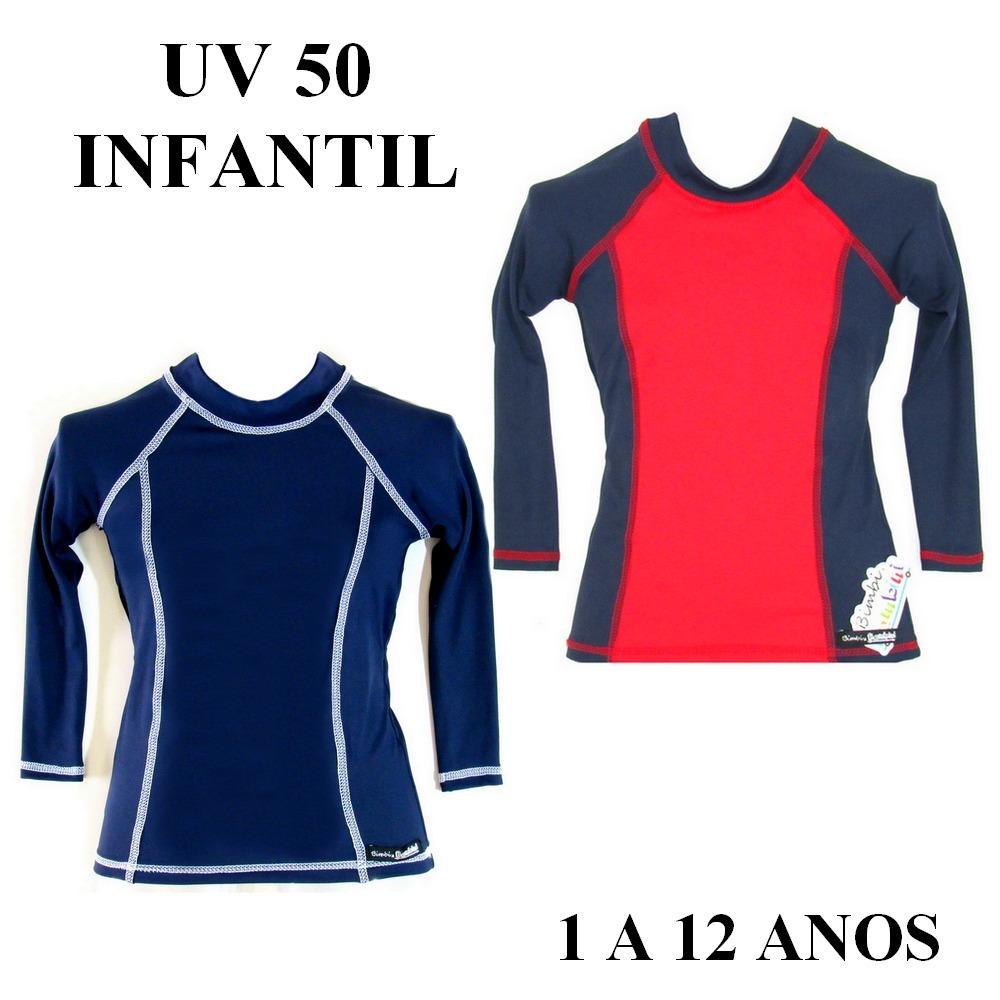 camiseta infantil unissex proteção solar uv 50+ dry blusa. Carregando zoom. e332df6f5b0