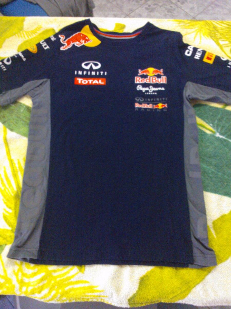 Camiseta Infiniti Red Bull F1 Team 2015 Original R 100