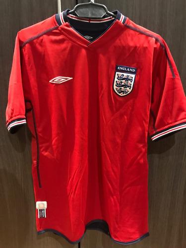 camiseta inglaterra talla s umbro mundial 2002