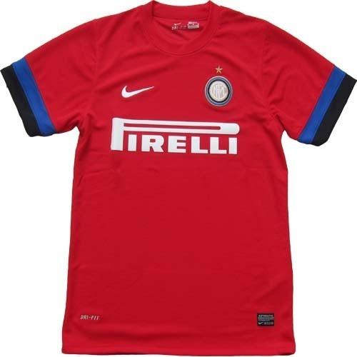camiseta inter de italia nike roja 2012/2013