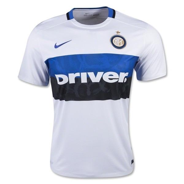 Camiseta Inter Milan Original Suplente Blanca 2016 2017 -   599 010bc6793e229