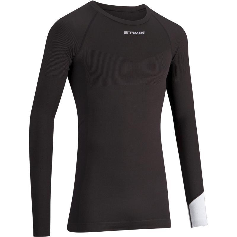 43476792f774 Camiseta Interior Térmica Manga Larga Hombre 500 Negra