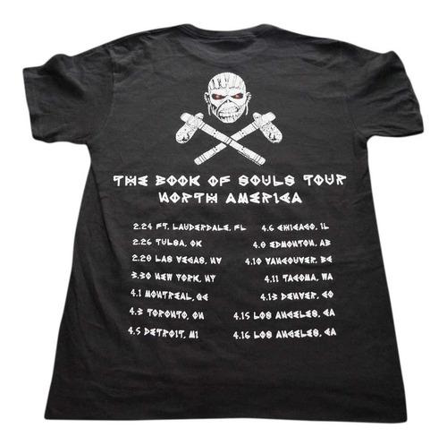 camiseta iron maiden importada rock activity talla s