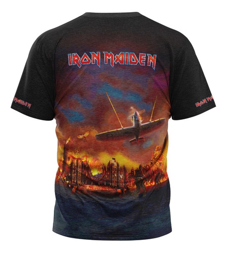 camiseta iron maiden legacy of the beast masculina other s