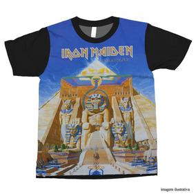 1b7119c270 Camiseta Iron Maiden Powerslave - Camisetas com o Melhores Preços no ...