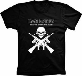 94510e8436 Camisa Manga Longa Iron Maiden - Calçados, Roupas e Bolsas com o Melhores  Preços no Mercado Livre Brasil