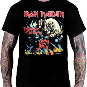 c1e4650075 Camiseta Iron Maiden The Number Of The Beast Tamanho Pp - Camisetas ...