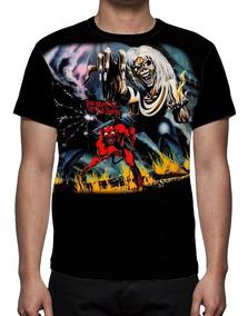 eb03c3f0f8 Camiseta Iron Maiden The Number Of The Beast Tamanho Gg - Camisetas  Masculinas GG Curta com o Melhores Preços no Mercado Livre Brasil