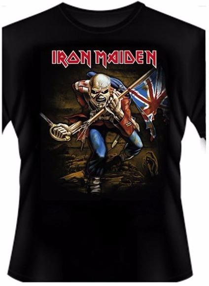 da7320b8f Camiseta Iron Maiden The Trooper - 36 - R  37