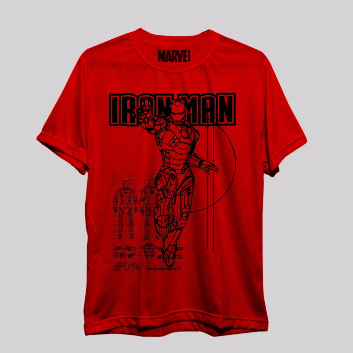 camiseta iron man homem de ferro marvel vingadore - freekz -. Carregando  zoom. 50654ab78e757