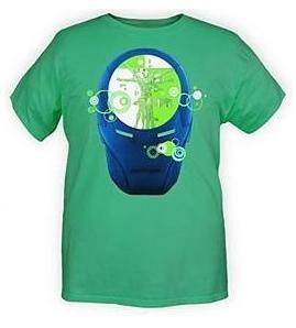 camiseta iron man talla m- dc -neca -spawn-marvel