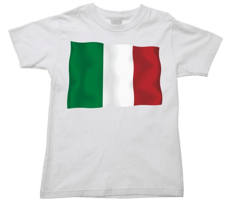 Camiseta Italia Italy Bandeira Mapa Infantil Juvenil 02 - R  38 a3a87ad141ce3