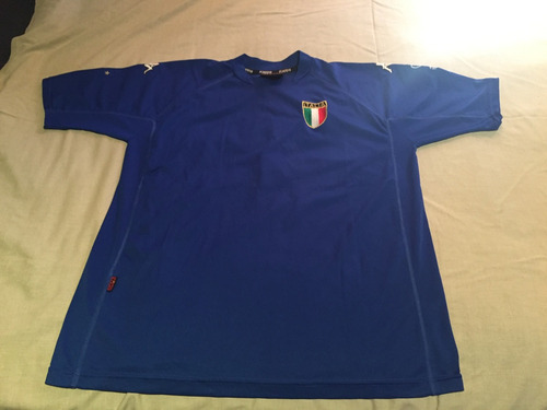 camiseta italia kappa mundial 2002 del piero 7 envio gratis