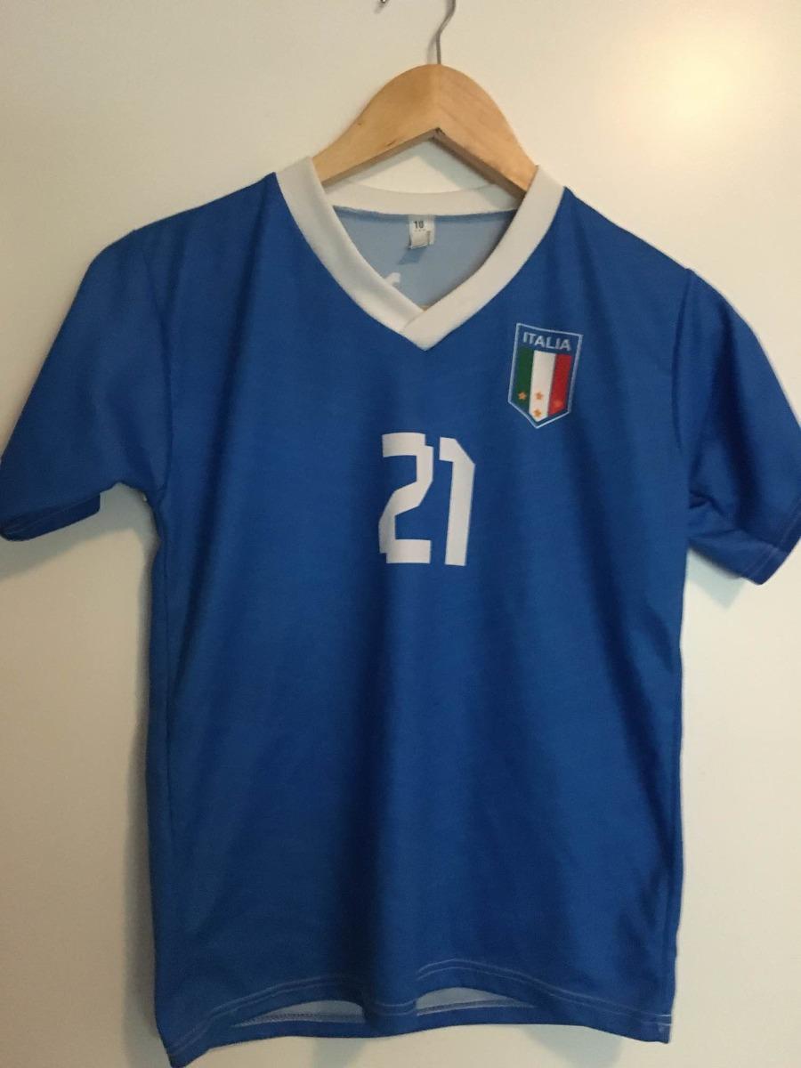 camiseta italia pirlo 21 talle 10 réplica. Cargando zoom. d2b51a5b281da
