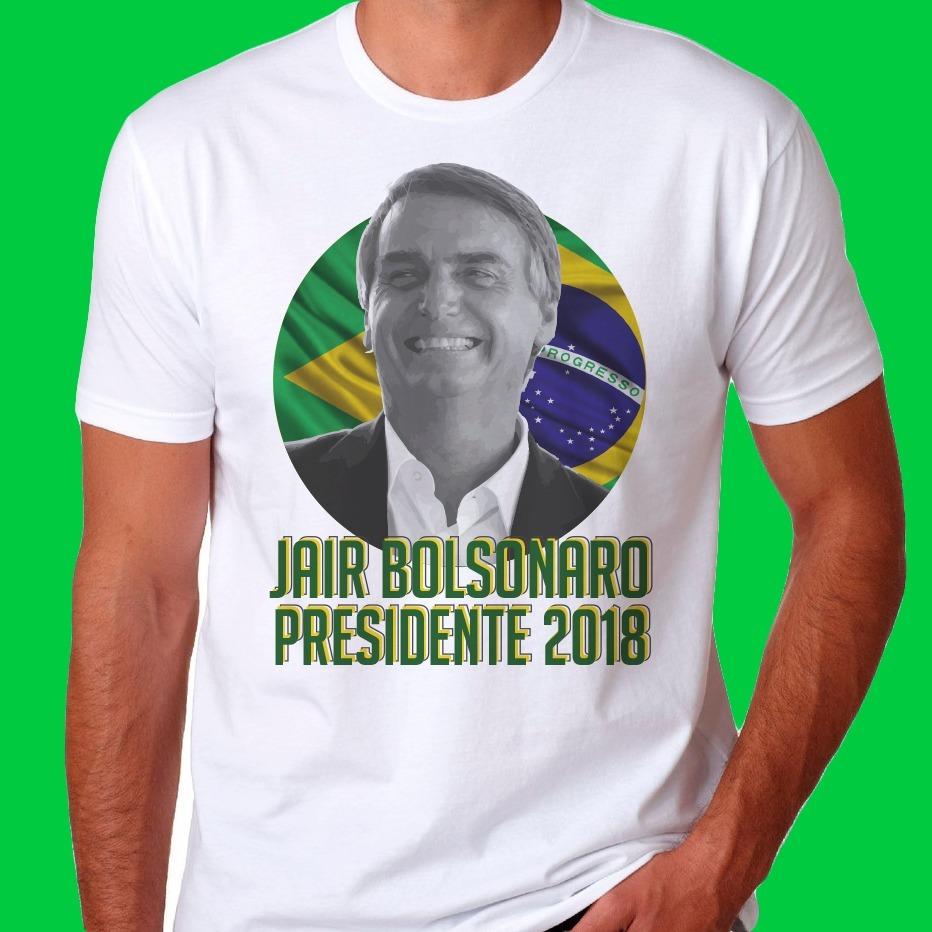 8a79379d654ef camiseta jair bolsonaro presidente 2018 camisa foto barato. Carregando zoom.