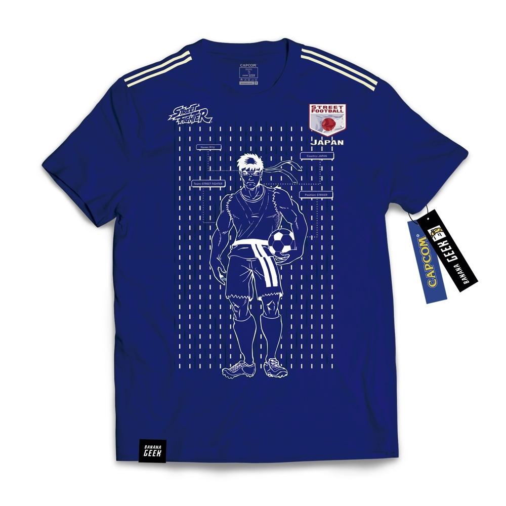 camiseta japão ryu street fighter copa. Carregando zoom. e5a1c5357b3cd